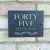Door number for Front door number plaques