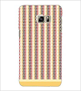 PrintDhaba Dot Pattern D-1474 Back Case Cover for SAMSUNG GALAXY NOTE 5 EDGE (Multi-Coloured)