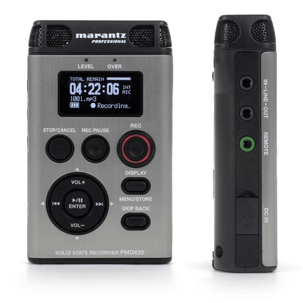 Marantz PMD620 Handheld SD MP3/WAV Recorder discuss other related contents