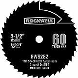 Rockwell RW9282 4 1/2-Inch 60T High Speed Steel Compact Circular Saw Blade