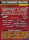 echange, troc DVD Karaoké KPM Pro - Coffret 3 DVD : Années 60 & 70 & 80