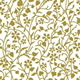 """Con-Tact Brand Creative Covering Self-Adhesive Shelf Liner, Mercedes Antique Gold,  18""""x 24"""