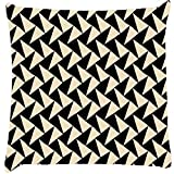 Snoogg Abstract Pattern Cushion Cover Throw Pillows 16 X 16 Inch