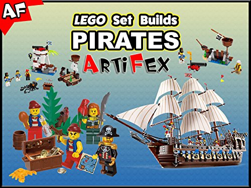 Clip: Lego Set Builds Pirates - Season 1