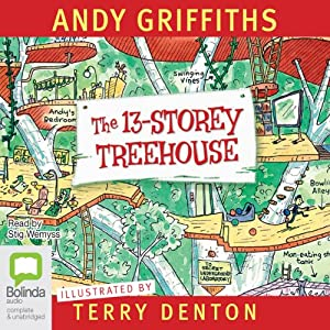 13 Storey Treehouse | [Andy Griffiths]
