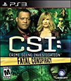 CSI: Fatal Conspiracy - PlayStation 3 Standard Edition