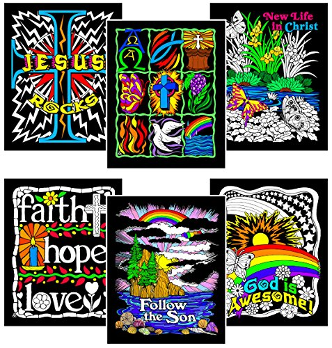 Faith Six 8x10 Fuzzy Velvet Coloring Posters Price in India ...