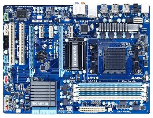 GIGABYTE GA-970A-D3 AM3  AMD 970 SATA 6Gb/s USB 3.0 ATX AMD Motherboard