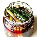 北海道産 山菜 天然 行者にんにく醤油漬け 2本セット