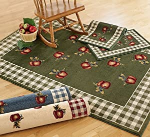 Country Apple Rug 3 39 3 X 5 39 1 Ivory