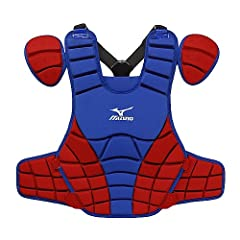 Mizuno Samurai G3 16-Inch Chest Protector (Royal Red) by Mizuno