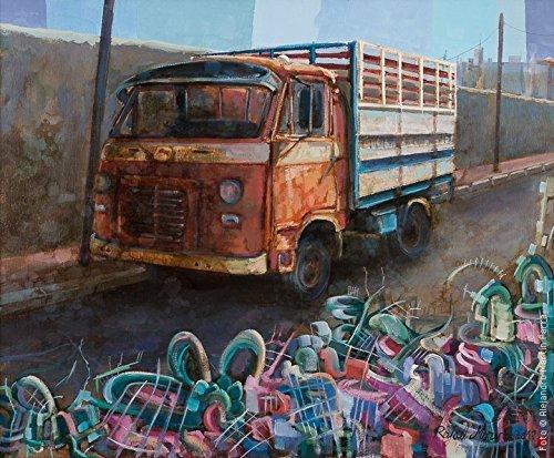 habia-una-vez-un-avia-camion-pintura-original