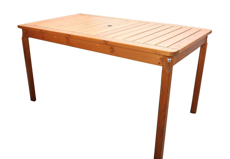Gartenmöbel Hochwertiger Gartentisch, Evje, 135x77x70 jetzt kaufen