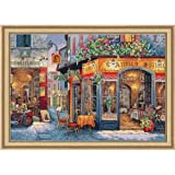 Dimensions Needlecrafts Gold Collection European Bistro Counted Cross Stitch Kit 16'X11'