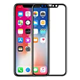 SHL Clear Full Cover Tempered Glass Screen Protect for iPhone XS/iPhone xs max/iPhone XR (iPhone xs max) (Color: iPhone xs max, Tamaño: iPhone XS MAX)