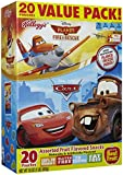 Disney Pixar Cars and Planes Fire & Rescue Assorted Fruit Flavored Snacks, 20 Pouches 16 Oz