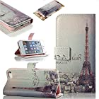 myLife Baby Pink Night in Paris - Glamorous Design - Textured Koskin Faux Leather (Card and ID Holder + Magnetic Detachable Closing) Slim Wallet for iPhone 5/5S (5G) 5th Generation iTouch Smartphone by Apple (External Rugged Synthetic Leather With Magnetic Clip + Internal Secure Snap In Hard Rubberized Bumper Holder)