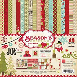 Echo Park Paper Season's Greetings Collection Kit
