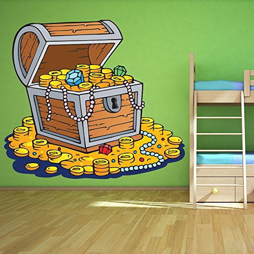 treasure-chest-gold-coins-pirate-colour-wall-sticker-kids-art-decals-decor-available-in-8-sizes-smal