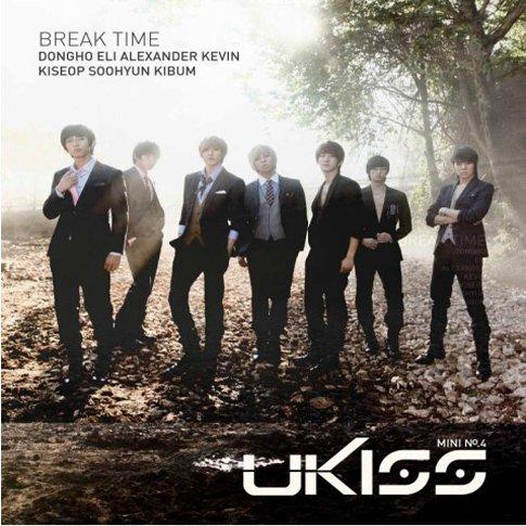 Kpop CD, U-kiss, Break Time the 4th mini album