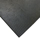 Super-Grip Scraper Mat - 5 MM thick x 4 FT wide Rubber Runners