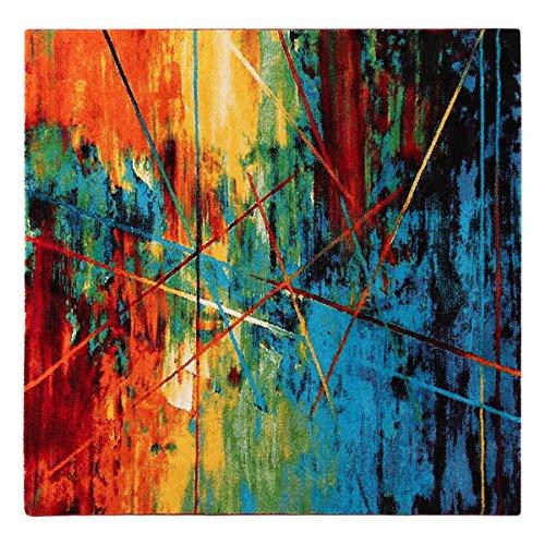Tappeto quadrato Gallery E multicolor - 200x200 cm M033
