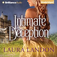 Intimate Deception (       UNABRIDGED) by Laura Landon Narrated by Sarah Coomes