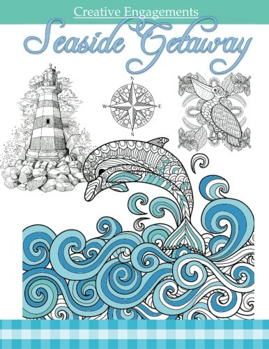Seaside Getaway: Marine Life Coloring Book ; Adult Coloring Books Ocean in All Depa ; Ocean Animals ; Ocean Theme ; Marine Life ; Mermaids ; Adult ... D ; Adult Coloring Books Ocean Beach in all D