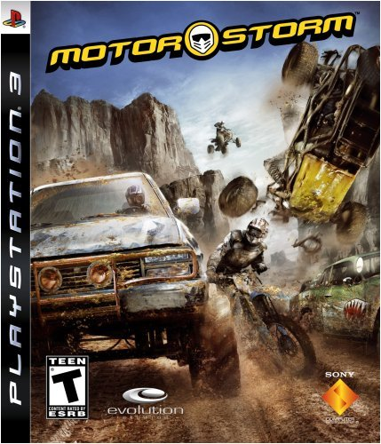 Motorstorm - Playstation 3 front-672701