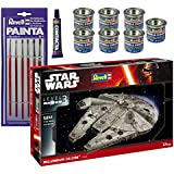 Revell Star Wars Gift Set Star Wars film Episode VII - The Force Awakens - Model Kit with All Paints, 13g Glue and 6 Paint Brushes