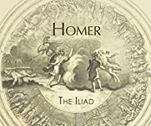Iliad Audiobook by  Homer Narrated by Jeff Harding