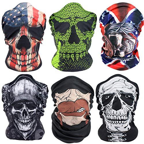 KapscoMoto Outdoor Face Masks Motorcycle Headwear Sports Bandana Headbands Multifunctional Seamless Tube Masks (Uv Protective Face Shield compare prices)