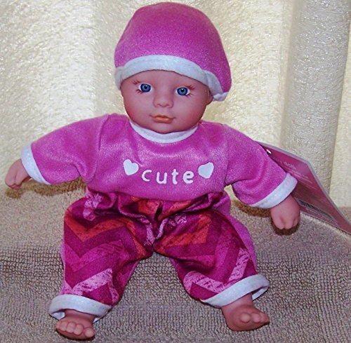 "Circo Mini Baby Doll 8"" Outfit and Eye Color Vary. - 1"
