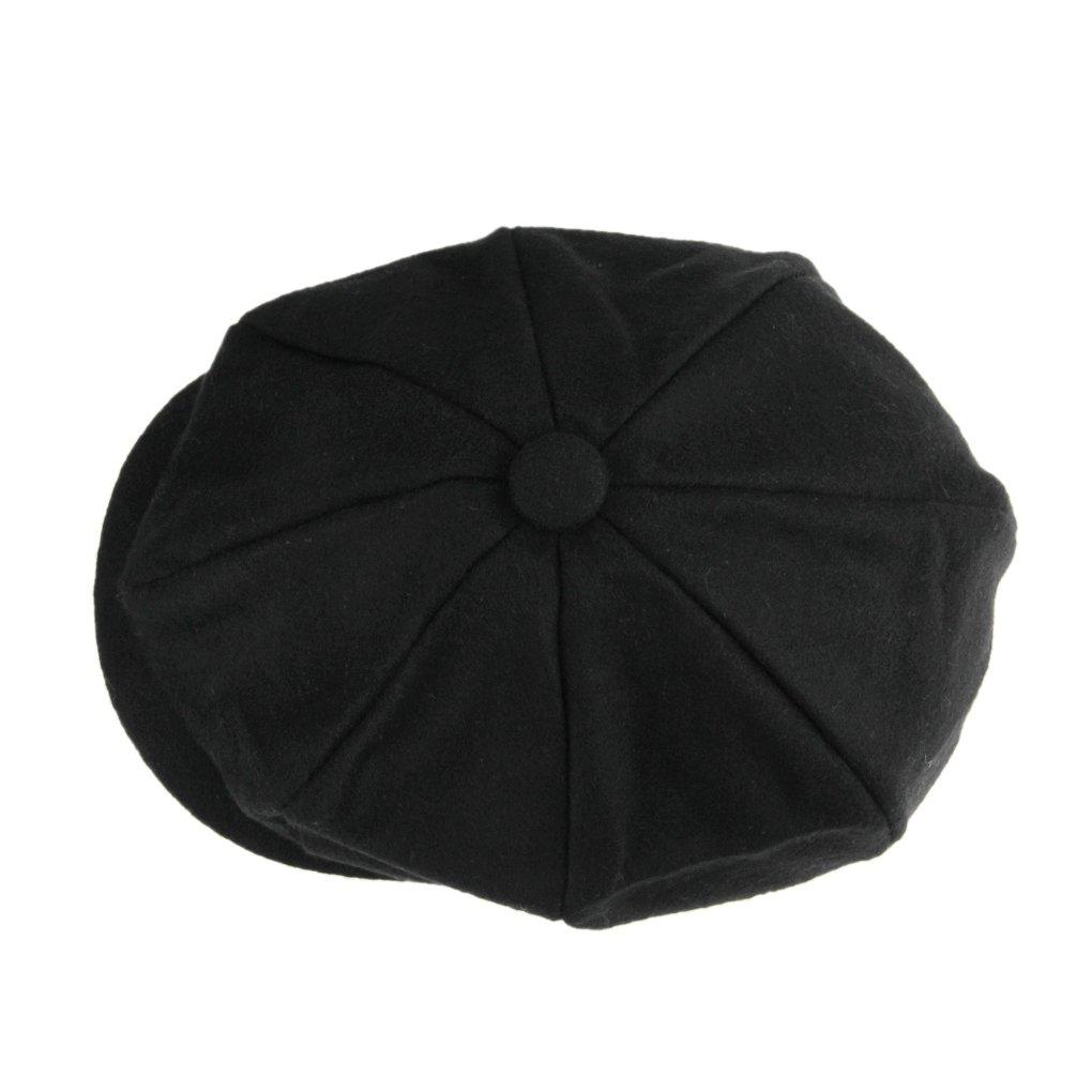 Unisex Winter Warm Baker Boy Newsboy Flat Cap Cheviot Tweed Beret Ivy Cabbie Cap Hat 1