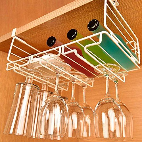 Leapair-Porte-verre-Rack-de-Rangement-Multifonction-Casier-de-Verre-de-Vin-tagre--Vin