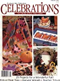 img - for Celebrations (To Cross Stitch and Craft) (Autumn 1993, Volume 4, Number 5) book / textbook / text book