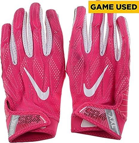 Marcus Smith Philadelphia Eagles Game-Used Breast Cancer Awareness Pink Nike Gloves used vs Minnesota Vikings on October 23, 2016 - Fanatics Authentic (Minnesota Vikings Gloves Nike)
