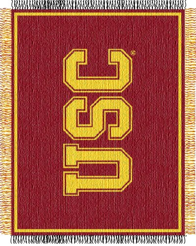 Northwest Usc Trojans Triple Woven Decorative Throw 48X60 48X60
