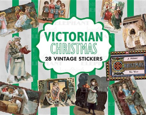 Victorian Christmas Sticker Box (Holiday Stickers)