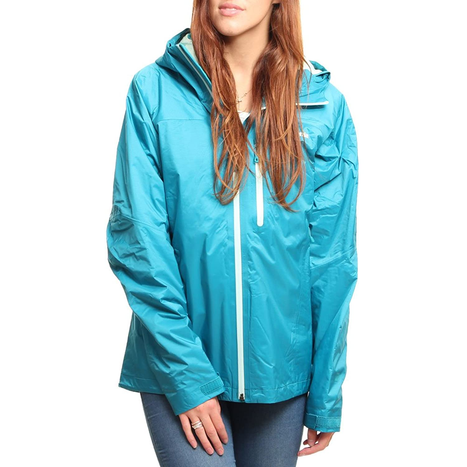 Patagonia W Insulated Torrentshell Jacket - Tobago Blue - - Wasserdichte isolierte Damen H2No Regenjacke