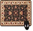 Black Persian/Oriental Rug-Mat- Square Mousepad - Stylish, durable office accessory and gift