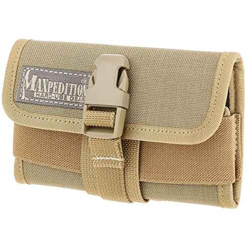 Maxpedition PT1021K Horizontal Smart Phone Holster, Khaki