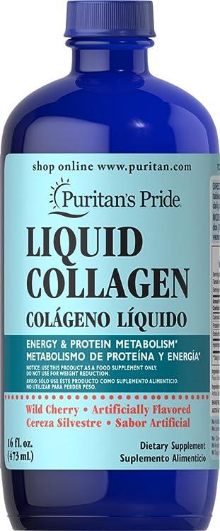 Puritan's Pride Liquid Collagen-16 fl oz Liquid一站式海淘,海淘花专业海外代购网站--进口 海淘 正品 转运 价格