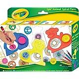 Crayola - Kit de loirsir créatif - Spir'Animal