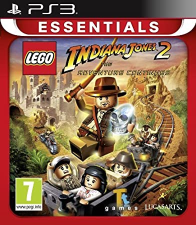 Lego Indiana Jones 2 - The Adventures Continues (PS3) by Disney