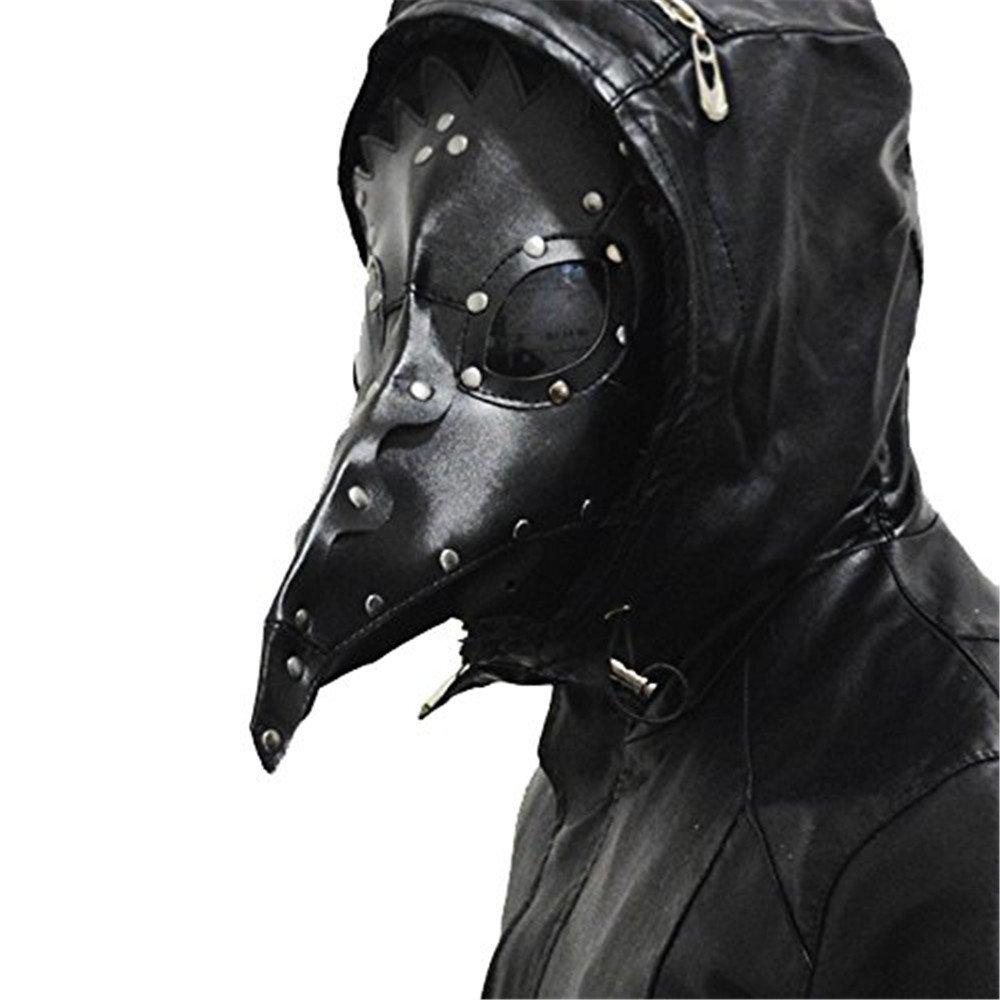 Kangkang@ Plague Bird Doctor Nose Cosplay Fancy Gothic Steampunk Retro Rock mask 0