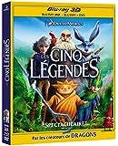Les Cinq légendes [Combo Blu-ray 3D + Blu-ray + DVD + Copie digitale]