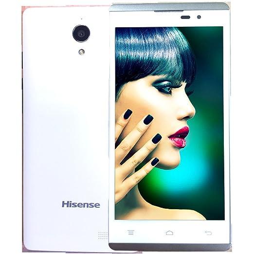Hisense HS-L691 Smartphone débloqué (5 pouces - 8 Go) Blanc (import Espagne)