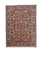 RugSense Alfombra Persian Ardebil Fondo Pura Seta Marrón/Multicolor