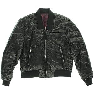 [BLANKNYC] Girls Faux Leather Reversible Puffer Coat